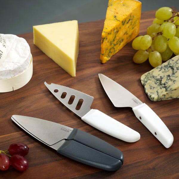 Nože na sýr Duo, šedé