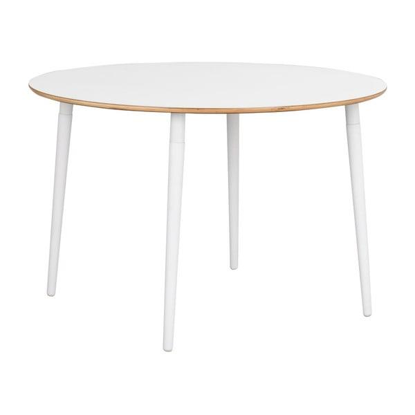 Bílý jídelní stůl Rowico Aate