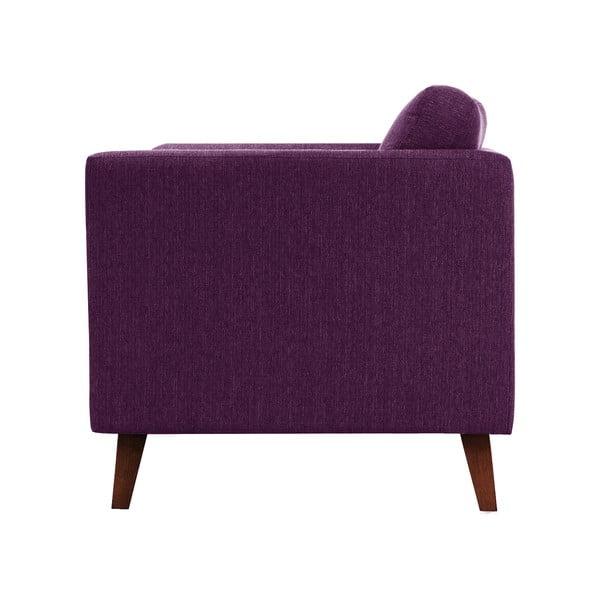 Švestkově fialová trojmístná pohovka Jalouse Maison Elisa
