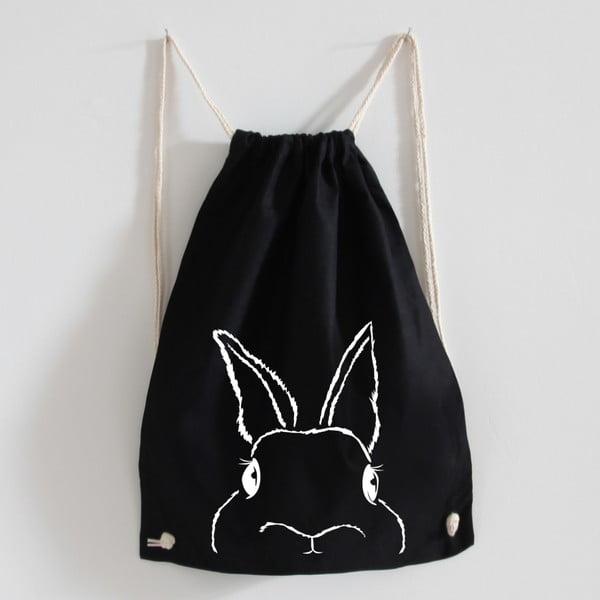 Plátěný batoh Hasi Black