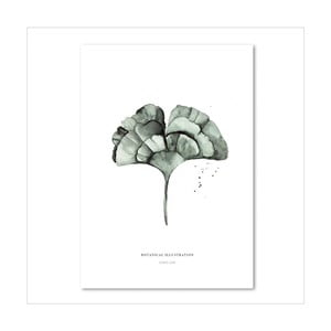 Plakát Leo La Douce Ginko Leaf, 29,7x42cm