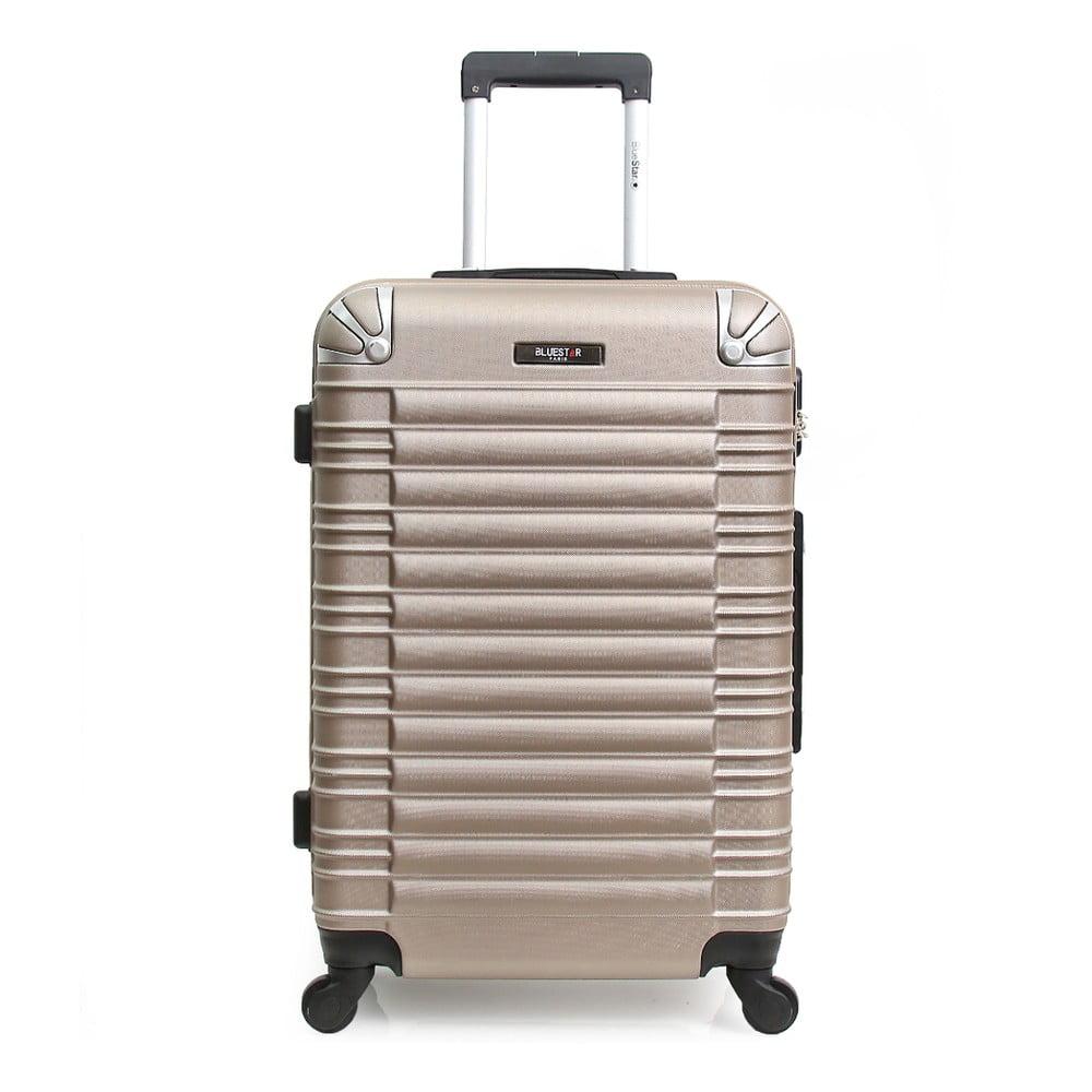 Béžový cestovní kufr na kolečkách Blue Star Lima, 31 l