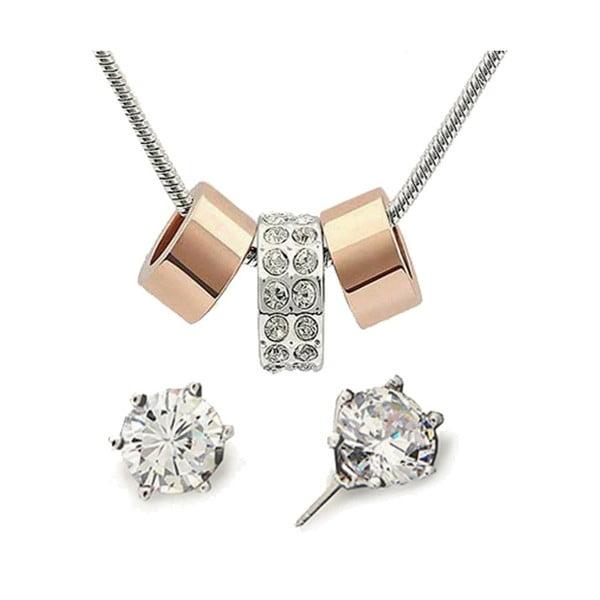 Set náušnic a náhrdelníku Anillos