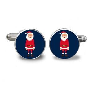 Sada 2 manžetových knoflíčků Butoni de Camasa Double Santa