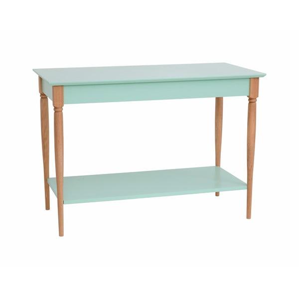 Mátově zelený konzolový stolek Ragaba Mamo, šířka 105 cm