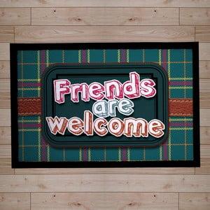 Rohožka Friends are Welcome, 40x60 cm