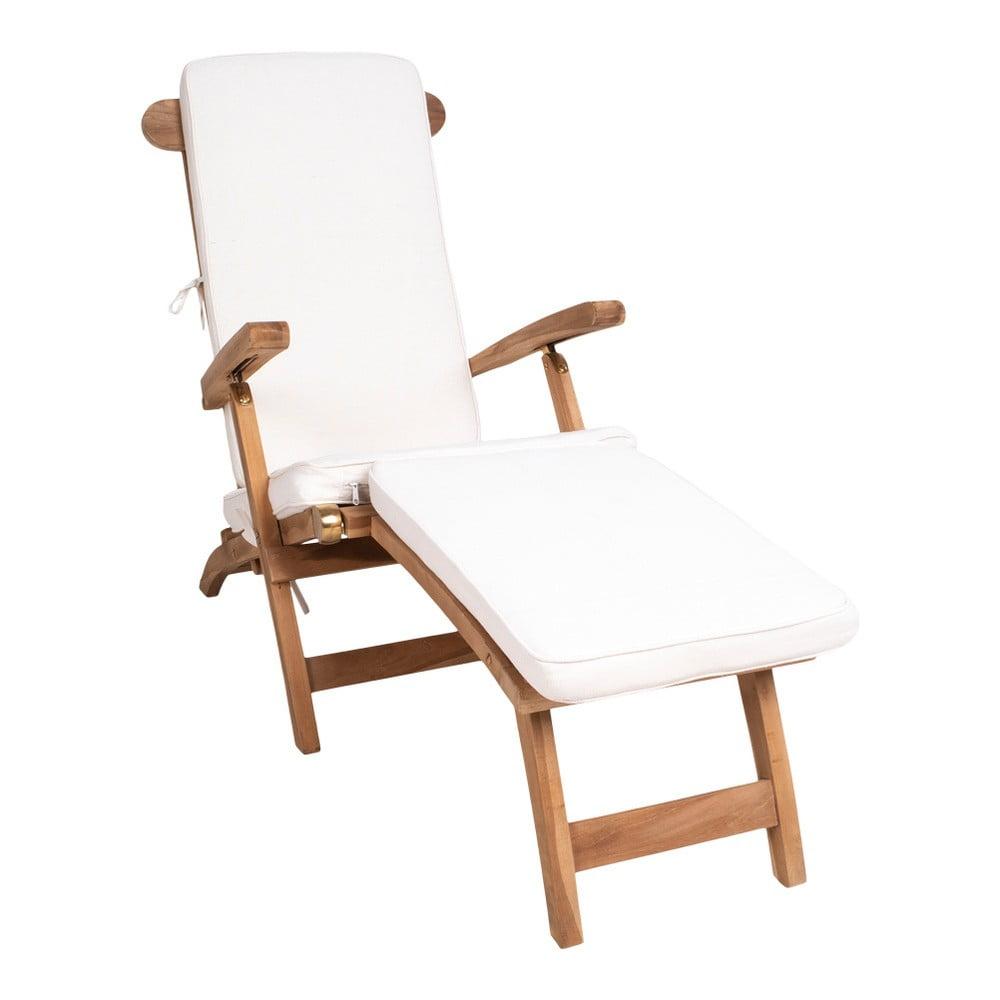 Bílý bavlněný sedák na venkovní lehátko House Nordic Arrecife