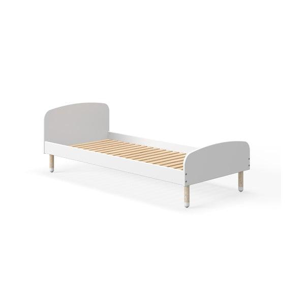 Biela detská posteľ Flexa Play, 90 x 200 cm
