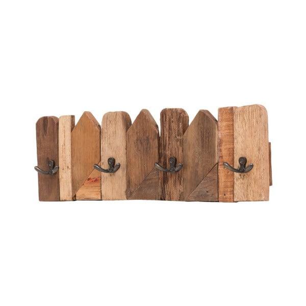 Dřevěný nástěnný věšák WOOX LIVING Nordic, délka50cm