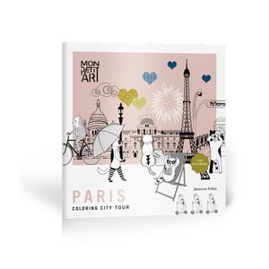 Omalovánky se samolepkami Mon Petit Art City Tour Paris