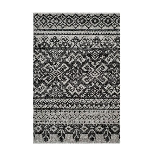 Černý koberec Safavieh Amina Area, 182x121cm