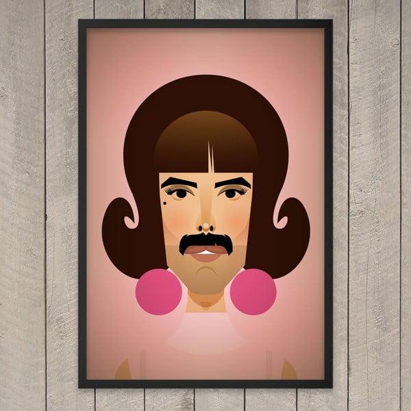 Plakát I want to break free, 29,7x42 cm