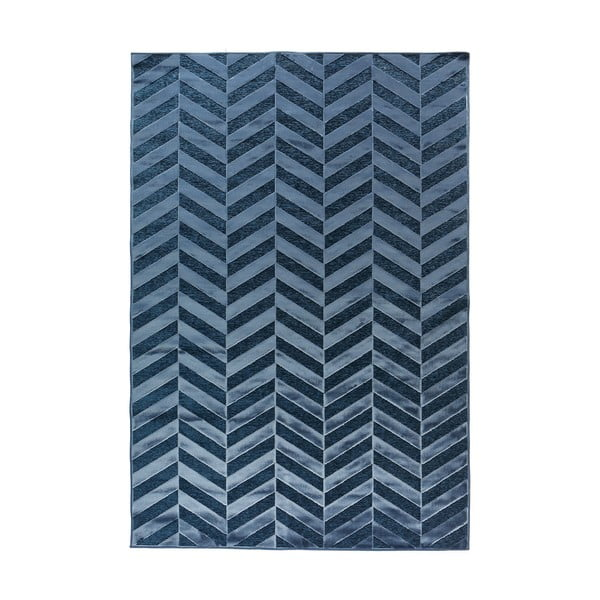 Koberec Genova no. 705, 65x110 cm, modrý