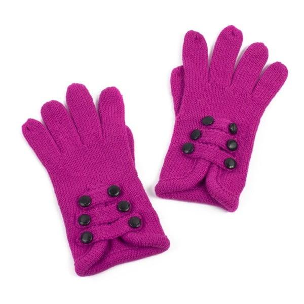 Růžové rukavice Iris