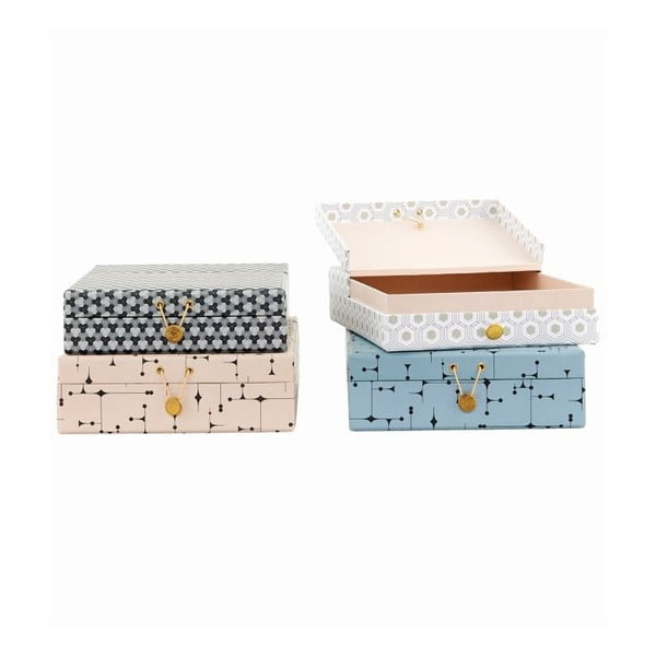 Set boxů ArtWork, 4 ks