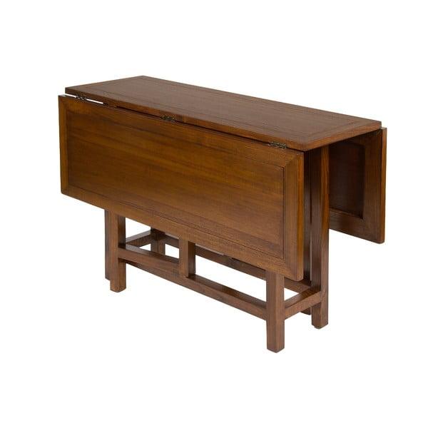 Rozkládací jídelní stůl ze dřeva mindi Santiago Pons Zano