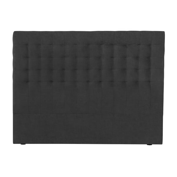 Tmavě šedé čelo postele Windsor & Co Sofas Nova, 160 x 120 cm