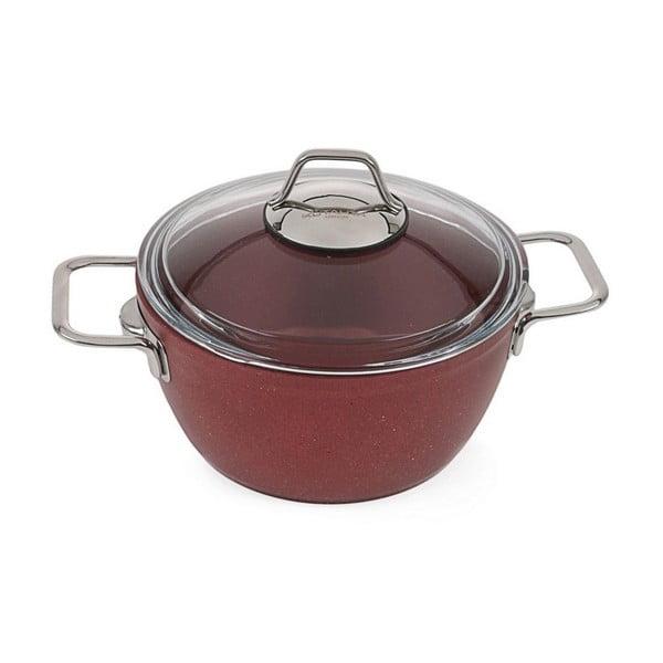 Červený set kuchyňského nádobí Antonia