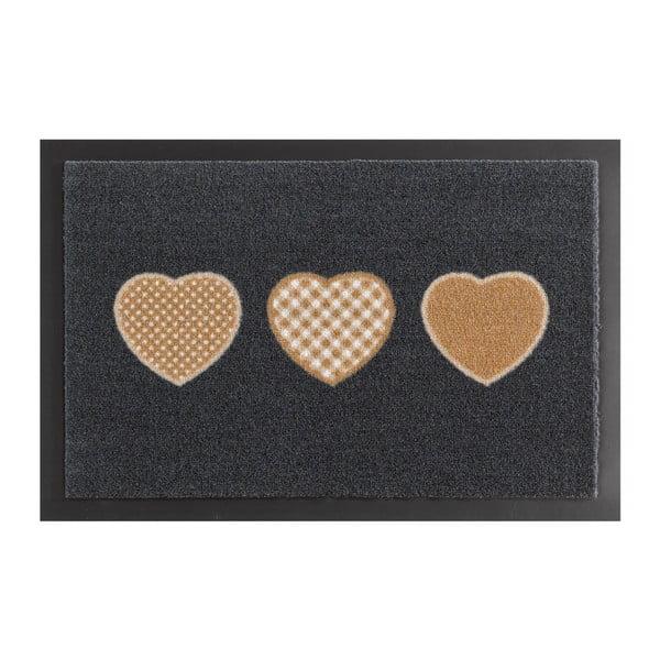 Hearts lábtörlő, 40 x 60 cm - Hanse Home