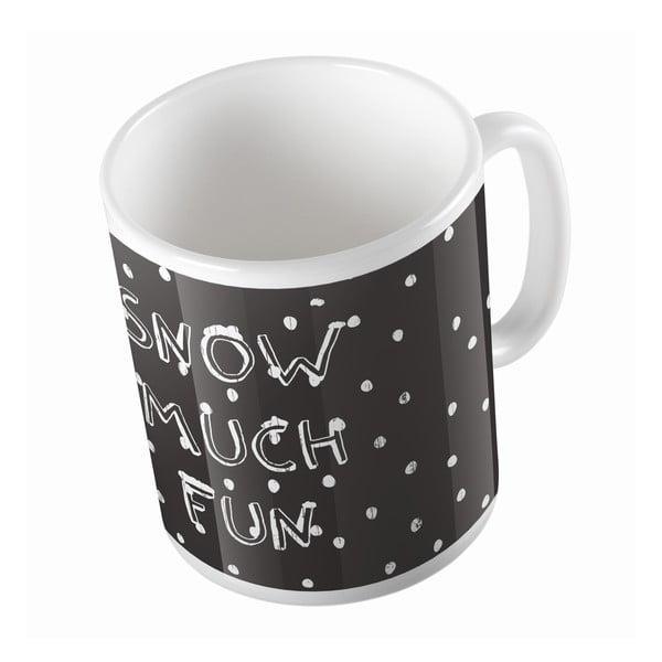 Keramický hrnek Snow Fun, 330 ml