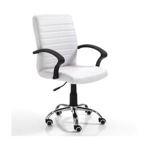 Bílá kancelářská židle Tomasucci Pany