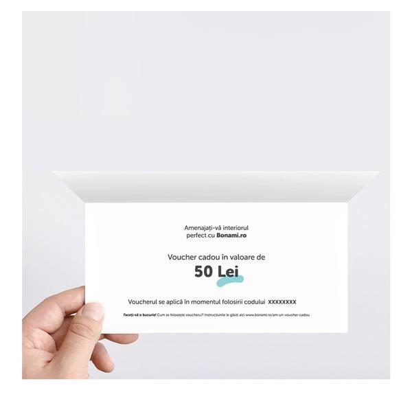 Voucher imprimat în valoare de 50 Lei