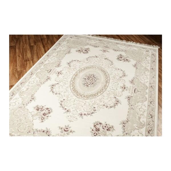 Béžový koberec Eko Rugs Creamy, 80x300cm