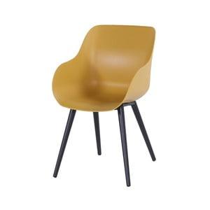 Sada 2 žlutých zahradních židlí Hartman Sophie Organic Studio Chair
