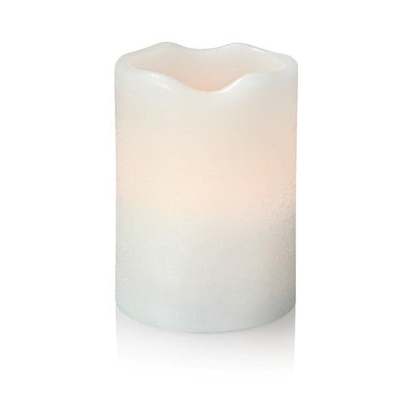 Sfeșnic luminos cu LED Markslöjd Love, înălțime 10 cm, alb