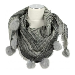 Vlněný šátek Shirin Sehan - Adel Fog