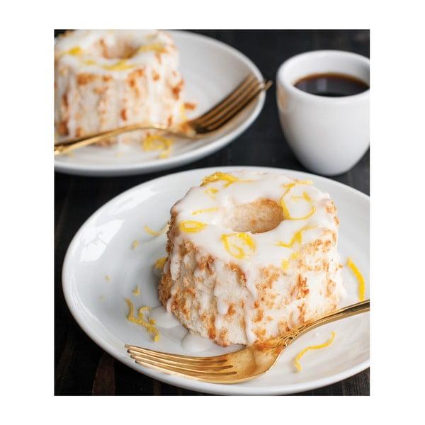 Formă pentru 6 mini prăjituri Nordic Ware Angel, 1,4 l, arămiu