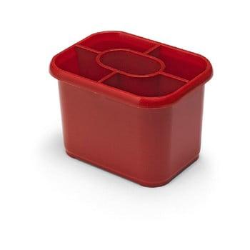 Scurgător vase pentru tacâmuri Addis Classic, roșu imagine