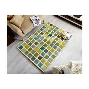 Zelený koberec Flair Rugs Tonal Campari, 80x150cm