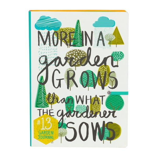 Zápisník pro zahradníky Garden Journal