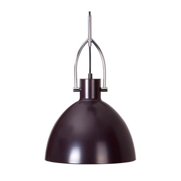 Ciemnoszara lampa wisząca z metalu sømcasa CanetSimat, ø28cm