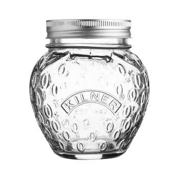 Borcan din sticlă cu capac Kilner Jahoda, 0,4 L imagine