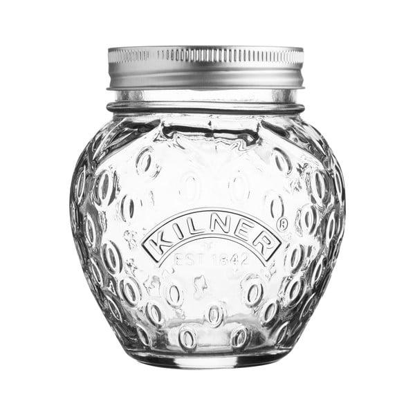 Strawberry befőttesüveg kupakkal, 0,4 l - Kilner
