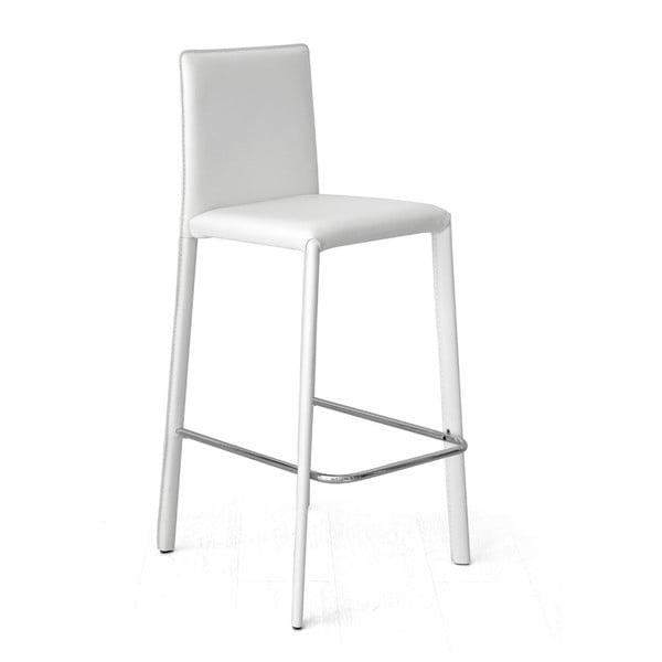 Barová židle Fisso, bílá