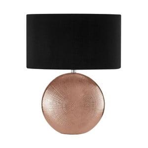 Stolní lampa se základnou měděné barvy Premier Housewares Jasmin
