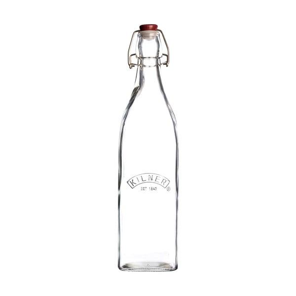Fľaša s plastovým uzáverom Kilner, 1 l