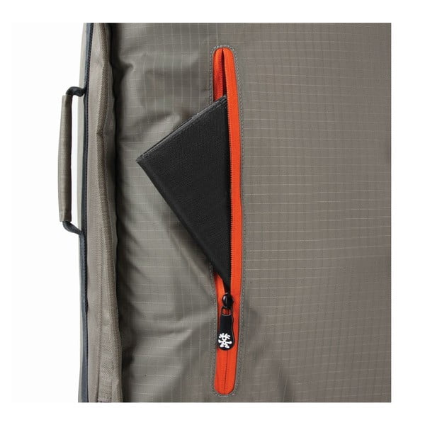 Cestovní kufr Track Jack Board, šedý