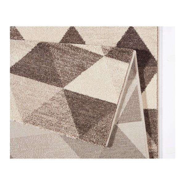 Béžový koberec Mint Rugs Diamond Triangle, 160x230cm