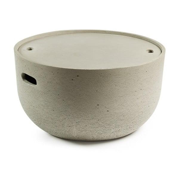 Rhette szürke tárolóasztal - La Forma