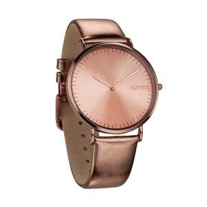 Růžovozlaté hodinky Rumbatime SoHo Metallic