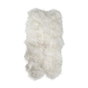 Bílý kožešinový koberec z ovčí kůže Arctic Fur Resco, 185 x 120 cm