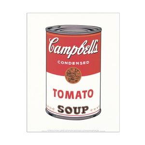 Obraz Warhol -  Cambell Soap (Tomato 1968), 28x35 cm