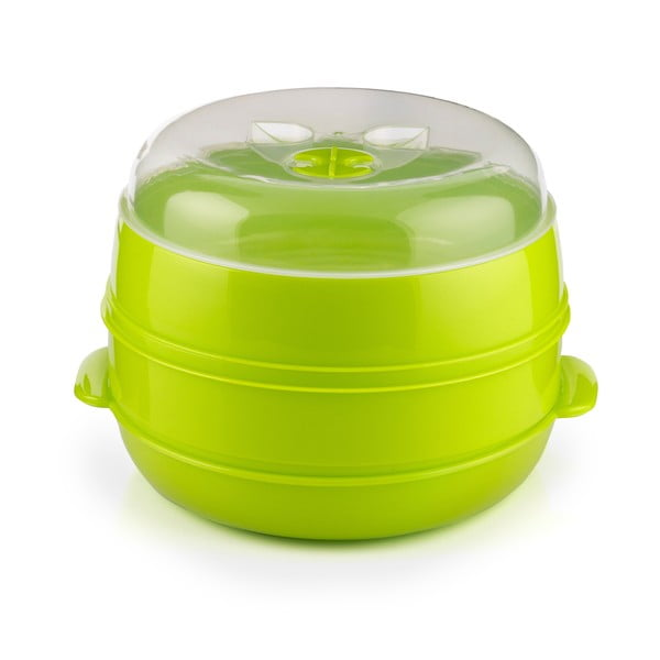 Pojemnik do gotowania na parze w kuchence mikrofalowej InnovaGoods