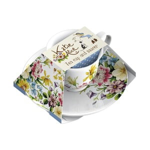 Porcelánový šálek s podšálkem Creative Tops English Garden, 150 ml