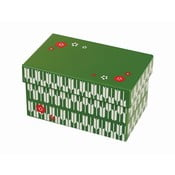 Zelený svačinový box Joli Bento Chiyo,960ml
