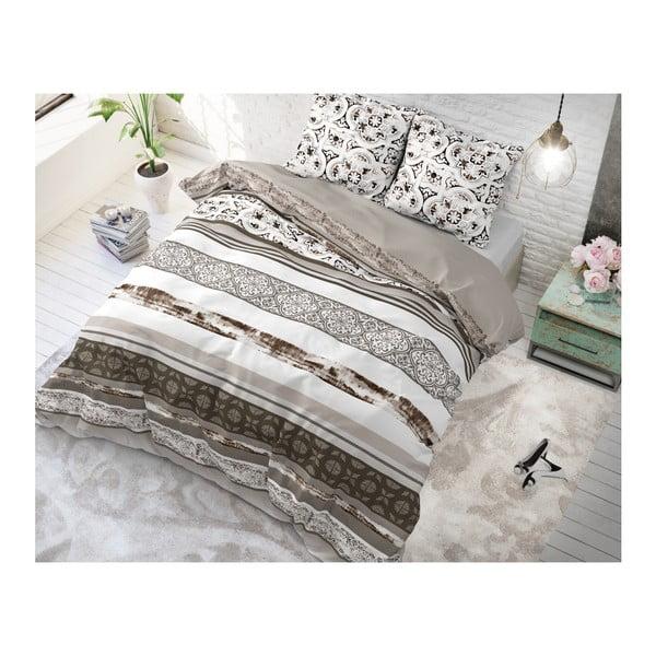 Bavlněné povlečení na jednolůžko Sleeptime Flora, 140 x 220 cm